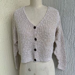 GAP Cream Ivory Knitted cardigan Sweater!